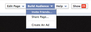 Build your Facebook presence by sharing your Facebook Page