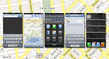 Add Google Maps in iOS 6