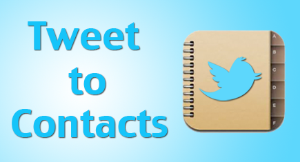 View and send tweets to iOS contacts
