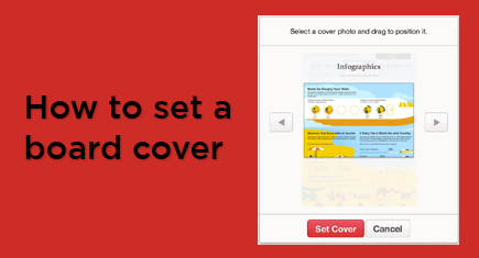 How to Set a Board Cover on Pinterest [video]