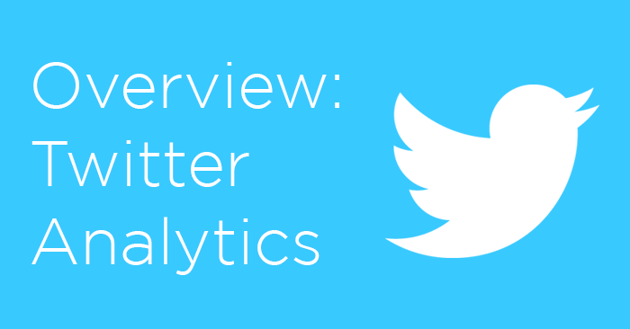 Twitter Analytics – Measuring your success on Twitter