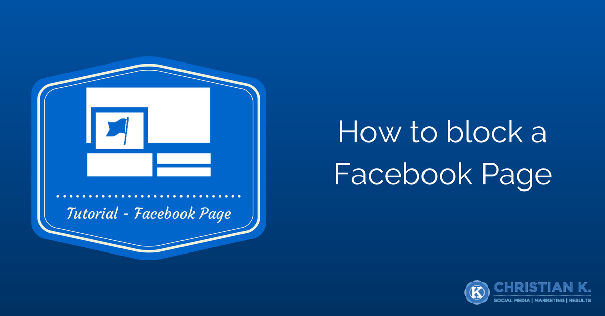 How to block Facebook Pages to limit engagement