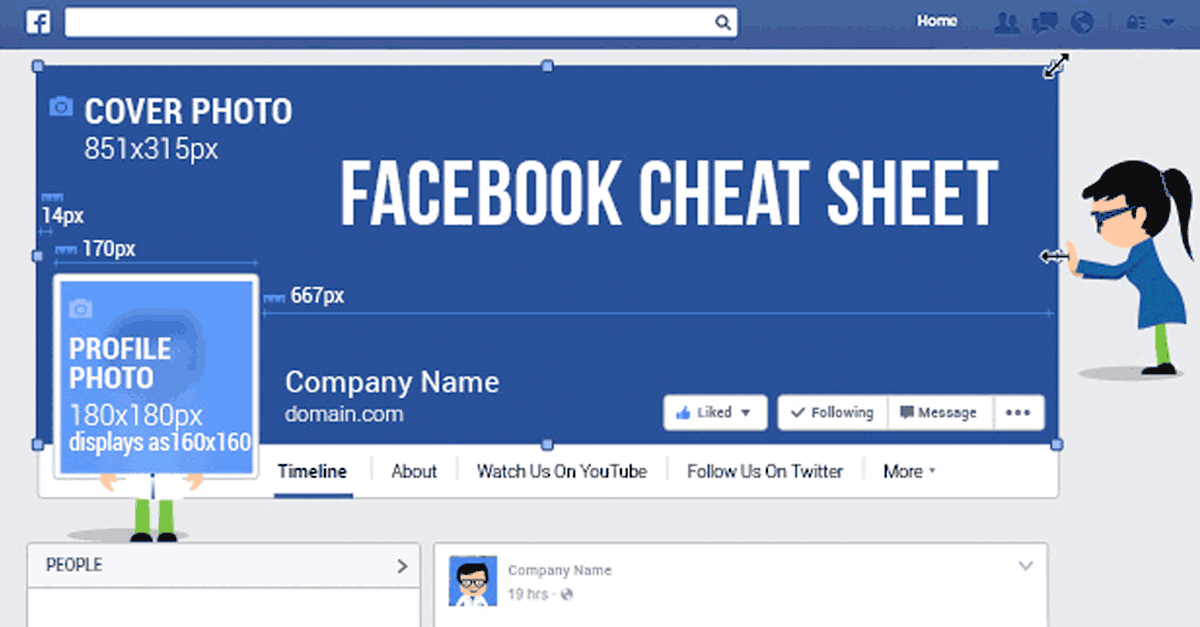 Facebook image size cheat sheet